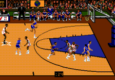 Team USA Basketball ingame screenshot