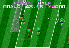 Tecmo World Cup ingame screenshot