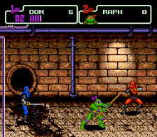 Teenage Mutant Ninja Turtles - The Hyperstone Heist ingame screenshot