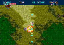 Thunder Force II ingame screenshot