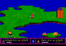 ToeJam & Earl ingame screenshot