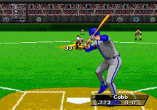 Triple Play 96 ingame screenshot