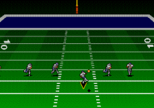 Troy Aikman NFL Football ingame screenshot