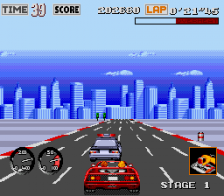 Turbo OutRun ingame screenshot