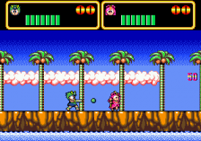 Wonder Boy III - Monster Lair ingame screenshot