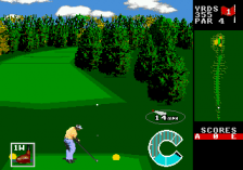 World Class Leaderboard Golf ingame screenshot