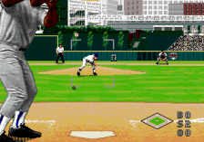 World Series Baseball '95 ingame screenshot