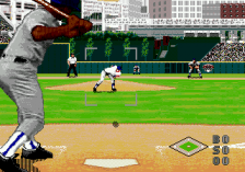 World Series Baseball '96 ingame screenshot