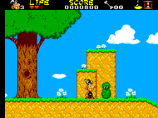 Asterix and the Secret Mission ingame screenshot
