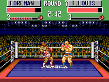 George Foreman's KO Boxing ingame screenshot
