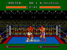 James 'Buster' Douglas Knockout Boxing ingame screenshot