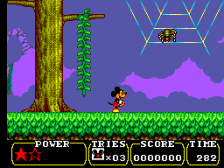 Land of Illusion Starring Mickey Mouse ingame screenshot