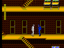 Michael Jackson's Moonwalker ingame screenshot