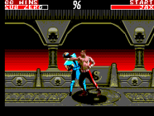 Mortal Kombat II ingame screenshot