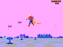 Space Harrier 3-D ingame screenshot