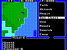 Ultima IV - Quest of the Avatar ingame screenshot