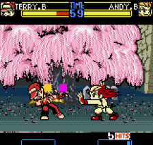 Fatal Fury F-Contact ingame screenshot