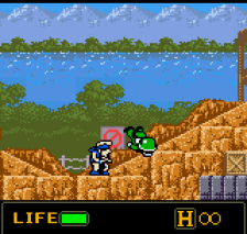 Metal Slug - 1st Mission ingame screenshot