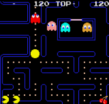 Pac-Man ingame screenshot