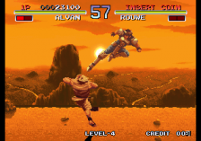 Galaxy Fight: Universal Warriors ingame screenshot