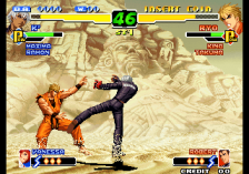 King of Fighters 2000, The ingame screenshot