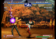 King of Fighters 2003, The ingame screenshot