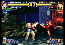 King of Fighters '99 Millennium Battle, The ingame screenshot