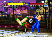 Real Bout Fatal Fury ingame screenshot