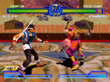 Battle Arena Toshinden 2 ingame screenshot