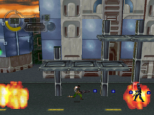 C - The Contra Adventure ingame screenshot