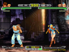Capcom vs. SNK Pro - Millenium Fight 2000 ingame screenshot