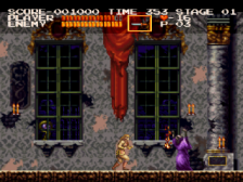 Castlevania Chronicles ingame screenshot