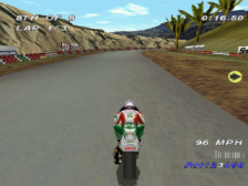 Castrol Honda Superbike Racing ingame screenshot