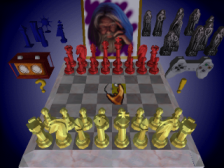 Chessmaster 3-D, The ingame screenshot