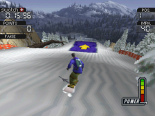 Cool Boarders 3 ingame screenshot