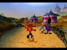 Crash Bandicoot 3 - Warped ingame screenshot