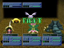 Digimon World 2 ingame screenshot