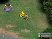Digimon World ingame screenshot