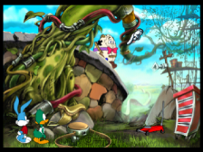 Tiny Toon Adventures - The Great Beanstalk ingame screenshot