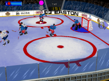 Wayne Gretzky's 3D Hockey '98 ingame screenshot