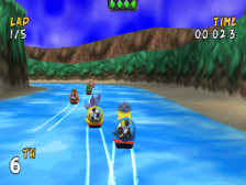 XS Airboat Racing ingame screenshot