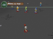 XS Junior League Football ingame screenshot