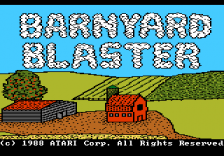 Barnyard Blaster title screenshot