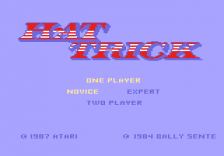 Hat Trick title screenshot