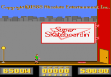 Super Skateboardin' title screenshot