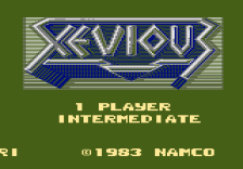 Xevious title screenshot