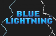 Blue Lightning title screenshot