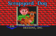 Scrapyard Dog title screenshot