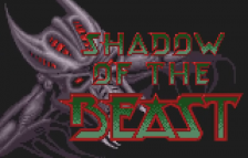 Shadow of the Beast title screenshot