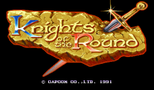 Knights of the Round title screenshot